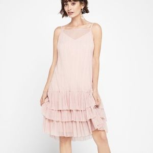 NWT Sleeveless Pleated Tutu Dress